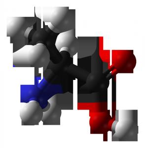 L-alanine-3D-balls